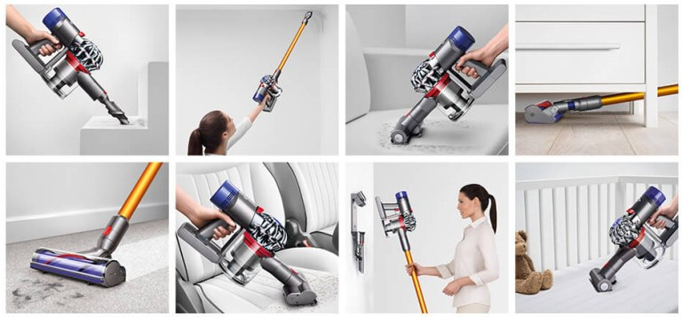 Dyson V8 Absolute accessoires