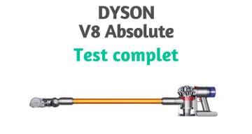 Dyson V8 Absolute avis