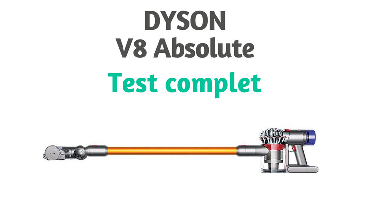 Dyson v8 absolute test