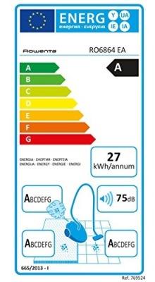 Rowenta RO6864 EA étiquette énergetique