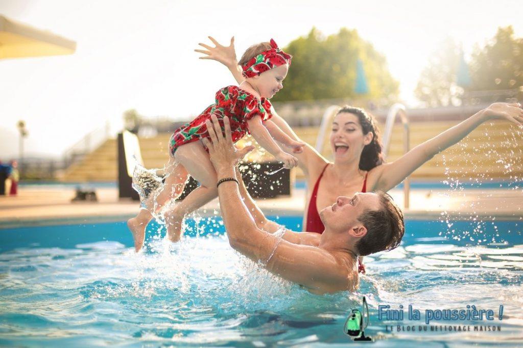 robot piscine famille